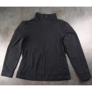 Banana Republic Black Full Zip Jacket Size S